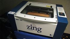 Epilog Zing, your personal laser engraver