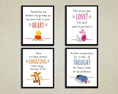 Winnie the Pooh: Transport your child to the Hundred Acre Wood with cute pictures and inspiring quotes ($15).