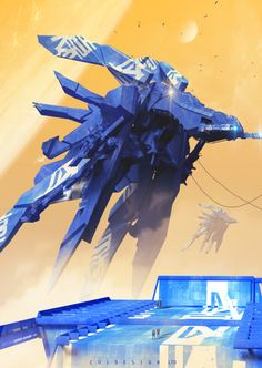 blue mondays by col price | Sci-Fi | 2D | CGSociety