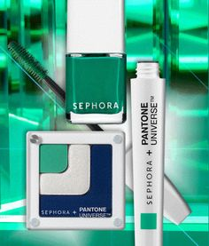 Power up with Emerald, the Pantone Color of the Year. #eyecandy #sephorapantone