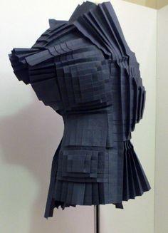 Morana Kranjec's origami armour - SHOWstudio - The Home of Fashion Film