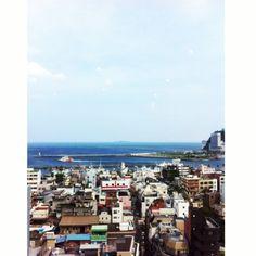 [熱海*2010/08/15]    熱海のホテル    最上階からの眺め٩ʕ⁍็౿⁍็๑ʔ۶ ∾ෆ⃛      @熱海