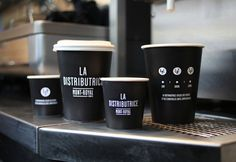 La Distributrice #Coffee #Packaging