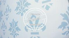 Decorando Parede - Stencil - (Fácil e Barato)