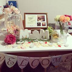 65ea1f60aa8d1 tweet   結婚式の参考に♪素敵なウェルカムスペース♡♡♡ - NAVER まとめ