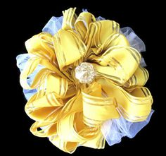 Silky Tulle Bow Big Bow Decoration Wedding Bows Silk by Delectia, $15.00