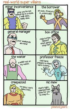 real-world super villains
