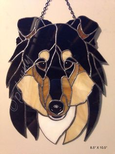 stained glass dogs - Google Search