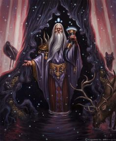 Mimir was an obscure figure in Norse mythology. But the name of Mimir was much associated with important events with Odin and the myth generally. But who was actually Mimir the Consultant of Odin and what made him beheaded? God Of Knowledge, Fantasy Wizard, Fantasy Warrior, Fantasy Art, Asgard, Celtic Mythology, German Mythology, Germanic Tribes, Norse Vikings