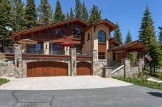 Remarkable, luxurious residence in Hidden Lake community in Squaw Valley. European-inspired Chalet home. Distinctive wood details throughout. Living room expands to an outdoor stone patio with nice views. Gorgeous kitchen with high-end appliances. Master suite features gas fireplace. All guest bedrooms are en-suite. Den has a built-in office and a TV area. Bonus rooms include Wine room, Exercise room and Elevator. Hidden Lake community enjoys two tennis courts and a private spring fed lake…