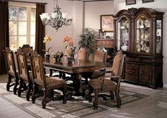 Neo Renaissance Dining Table w/4 Side Chairs and 2 Arm Chairs, /category/dining-room/neo-renaissance-dining-table-w-4-side-chairs-and-2-arm-chairs.html