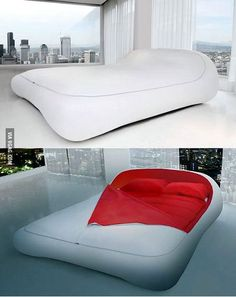 Bed with zipper!