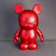 Ruby Red Mouse Custom Vinylmation