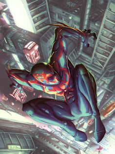 Spider-Man 2099 by Fpeniche on @DeviantArt