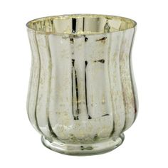 Ashland® Mercury Glass Votive Candle Holder, Silver
