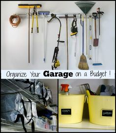 5 Simple Tips For Your Garage – Organize It On A Budget!