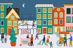 Christmas illustration / Naomi Wilkinson