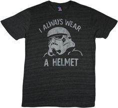 Star Wars Storm Trooper Helmet t-shirt tee shirt by Junk Food Movie T Shirts, Funny Shirts, Star Wars Tee Shirts, Dress Out, Junk Food, Tshirts Online, Helmet, T Shirts For Women, Imperial Stormtrooper
