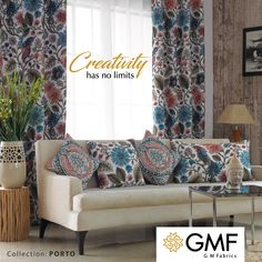 Stretch your #Creative boundaries and #DeckUp your #Home with #Exquisite #Designs. Explore more at www.gmfabrics.com #GMF #GMFabrics #HomeInterior #HomeFabric #HomeFurnishings