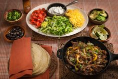 Quick Mexican Fajitas: 'We've been eating Mexican food for as long as I can remember. This simple fajita meal is perfect for a family feast, kids birthday party or having your mates over for the big game. Family Recipes, Family Meals, Kids Meals, Easy Meals, Little Gem Lettuce, Mexican Food Recipes, Ethnic Recipes, Mexican Party, Big Game