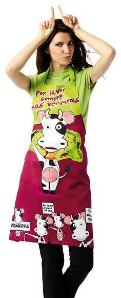 Delantal Vaca. (Descatalogado)
