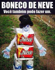 Boneco de neve o.O kkk