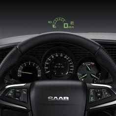 "Saab Cockpit, Notice the ""heads up display"" on the windsheld...love love love!!!!!!"