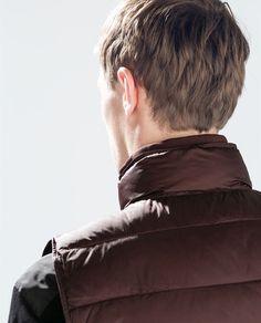 ZARA - MAN - PUFFER VEST Hair Fair, Mens Hair, Zara Man, Puffer Vest, Hair Styles, Hair Plait Styles, Hair Makeup, Hairdos, Haircut Styles