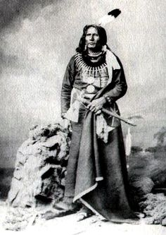 "Chief Luther Standing Bear of the Lakota Sioux Nation.  ""For the Lakota there was no wilderness. Nature was not dangerous but hospitable, not forbidding but friendly."""