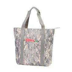 Get noticed on the go with this one of a kind camo tote! Measuring 16 26cf83b95aa5c