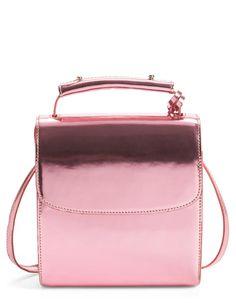 Metallic Pink Leather | @Nordstrom