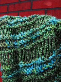 Athabasca Spring Scarf Knitting Pattern