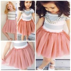 2015 Fashion Kids Tutu Dresses for Girls Shortsleeve Striped Silk Girl Party Dress Size 90-140 from Cupidbaby,$261.79 | DHgate.com