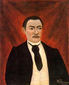 Portrait of Monsieur S, 1898, Henri Rousseau