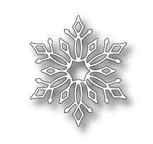 Memory Box Die: Lindeman Snowflake