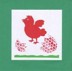 Velikonoční tvoření s bublinkovou fólií Diy For Kids, Rooster, Jar, Jars, Glass, Chicken