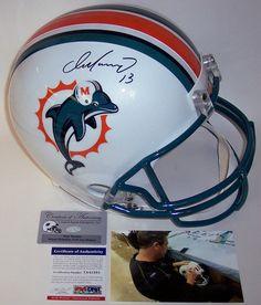 Dan Marino Autographed Hand Signed Miami Dolphins Full Size Helmet Dan  Marino 829bb9e38