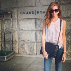 Chiara Ferragni / love the bag The Blonde Salad, Classy Women, Fashion Addict, Style Inspiration, Stylish, My Style, Casual, Outfits, Clothes