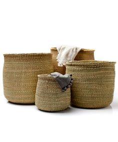 "'Iringa"" baskets. $23. perfect. Tanzanian women handweave these."