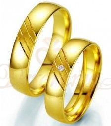 64 Best Βέρες Γάμου Breuning Χρυσές με Διαμάντι Verorama.gr images ... c7348d25027