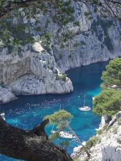 Cassis, France  The views from my hike. So delicious!