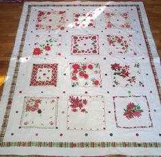 SALE  NEW PRICE  Christmas poinsettia by thevioletpansy on Etsy, $325.00