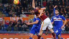 Roma-Sampdoria 2-1, analisi e pagelle: Cassano spauracchio nel finale - http://www.maidirecalcio.com/2016/02/07/roma-sampdoria-2-1-analisi-e-pagelle.html