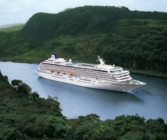 World's Most Scenic Cruises Panama Canal cruise & soon I will see it again and show my Mom.