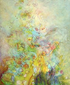 ''Mistakes Making Traits'' - oil and resin on canvas - 72'' x 60'' - Lennon Michalski 2010