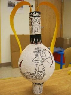 Ancient Greece: an Amphora Project for Kids - News - Bubblews