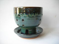 Pottery Berry Bowl by DragonPottery on Etsy, $40.00
