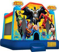 Justice League Party Rentals in Chicago, Bounce House Inflatables, Moon Bounce Combo Inflatable Rentals, Inflatable Bouncers, Moonwalk Rentals, Justice League Party, Moon Bounce, Inflatable Bounce House, Bounce House Rentals, Bouncy House, Bouncy Castle