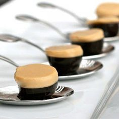Irish Car Bomb Jello Shots.  2 cups Guiness beer, divided use  2.5 to 3 packages unflavored gelatin (depending on how firm you want your shot to be)  2 teaspoons brown sugar or muscovado  1/2 to 1 teaspoon cocoa powder  1/2 cup Jameson  1/2 cup Bailey's Irish Cream