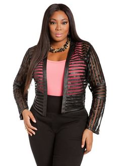 dd7275d1faf6f Ashley Stewart Jacket Womens Plus Size Fashion Unique Style Inspiration  Urban Apparel  UNIQUE WOMENS FASHION Curvy Outfits